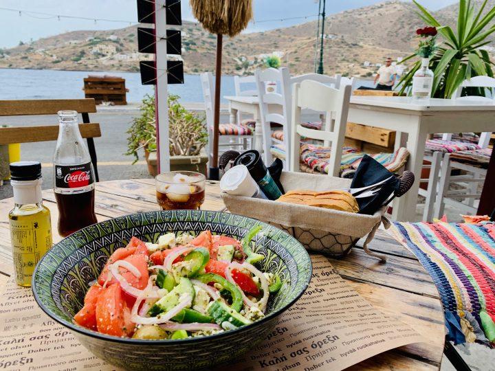Restaurant Allo on Ios Greece, Greek Cyclades Travel Blog