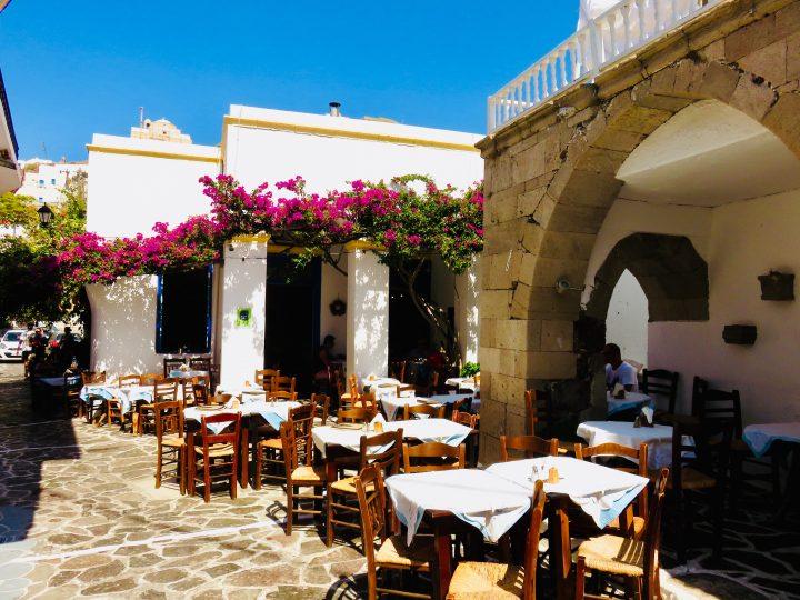 Restaurant Archontoula Plaka Milos Greece, Greek Cyclades Travel Blog