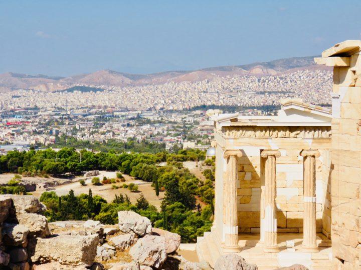 Ancient Athens Greece, Greek Cyclades Travel Blog
