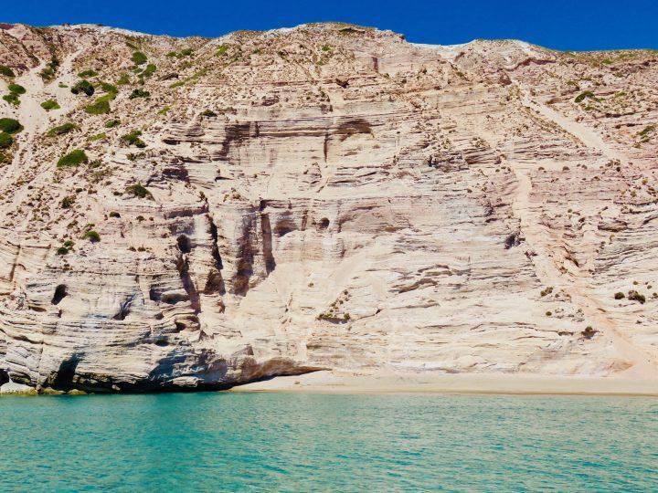 Hidden Beach at Milos Greece, Greek Cyclades Travel Blog