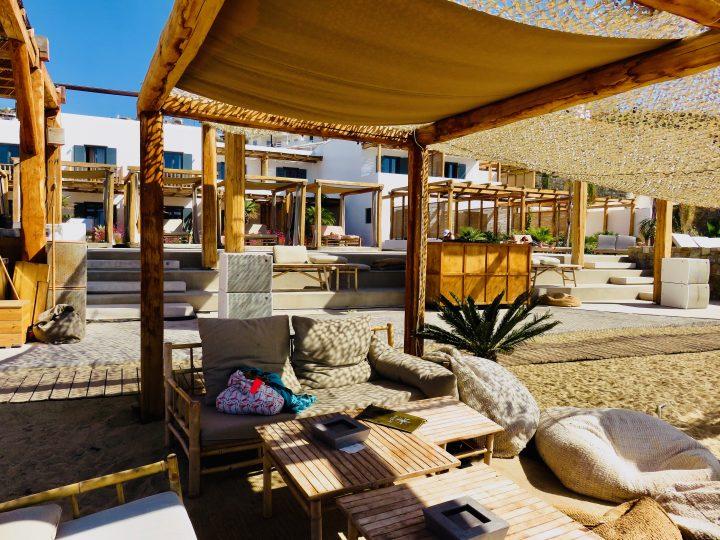 Branco Beach Club Tips Mykonos Greece, Greek Cyclades Travel Blog