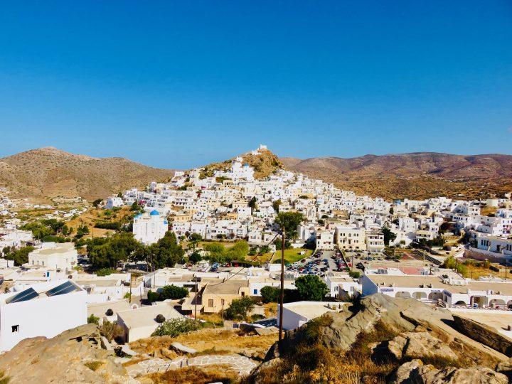 Chora Town Ios Greece, Greek Cyclades Travel Blog