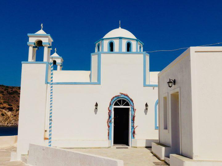 Beautiful Church Milos Greece, Greek Cyclades Travel Blog