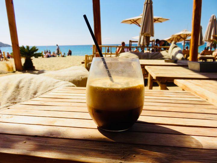 Freddo Branco beach club Mykonos Greece, Greek Cyclades Travel Blog