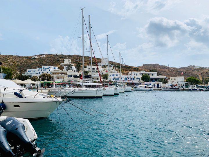Harbor of Ios Greece, Greek Cyclades Travel Blog
