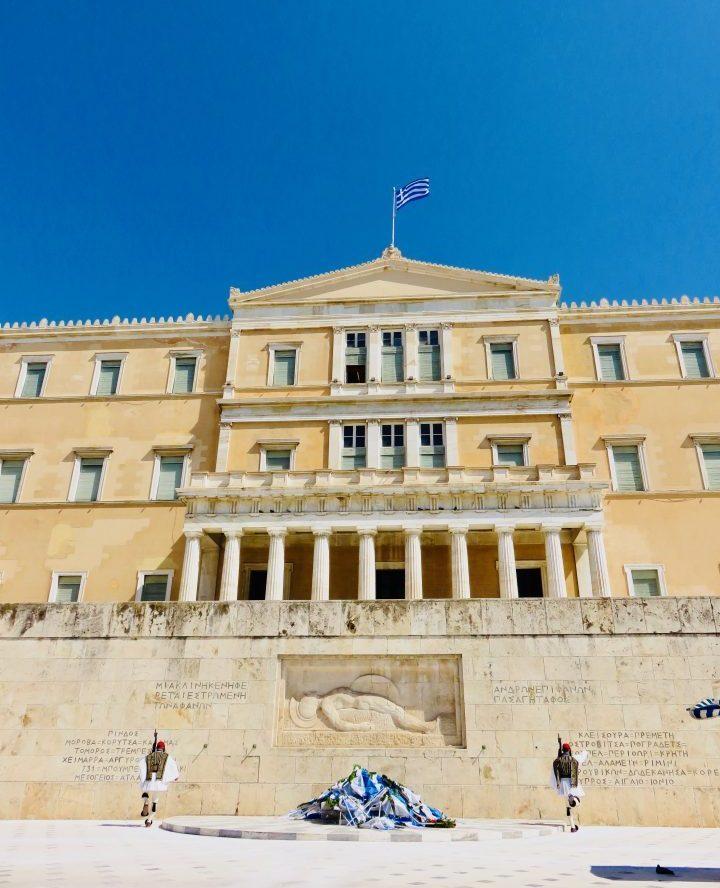 Hellenic Parliament Athens Greece, Greek Cyclades Travel Blog