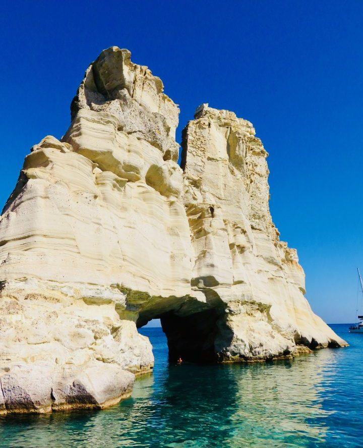 Kleftiko Milos Greece, Greek Cyclades Travel Blog
