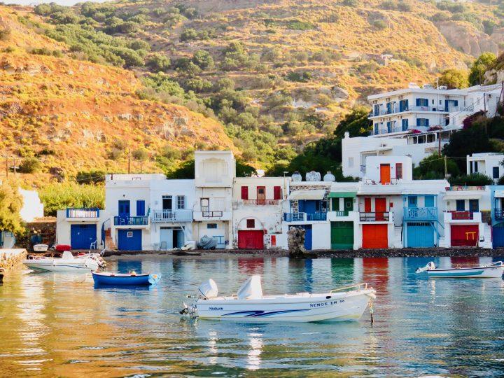 Houses of Klima Milos Greece, Greek Cyclades Travel Blog