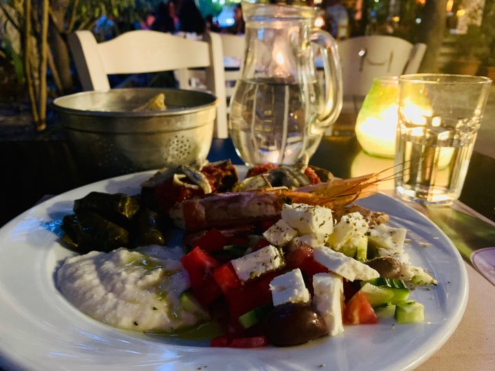 Eating Meze in Athens Greece, Greek Cyclades Travel Blog
