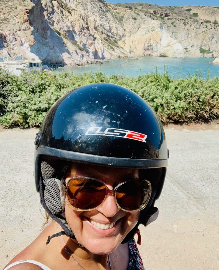 Mirja Motorbike Tips Greece, Greek Cyclades Travel Blog
