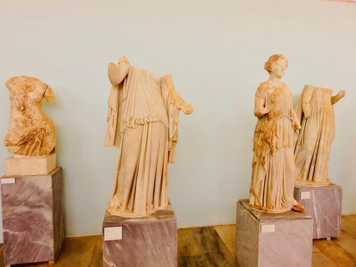 Museum Delos Greece, Greek Cyclades travel blog
