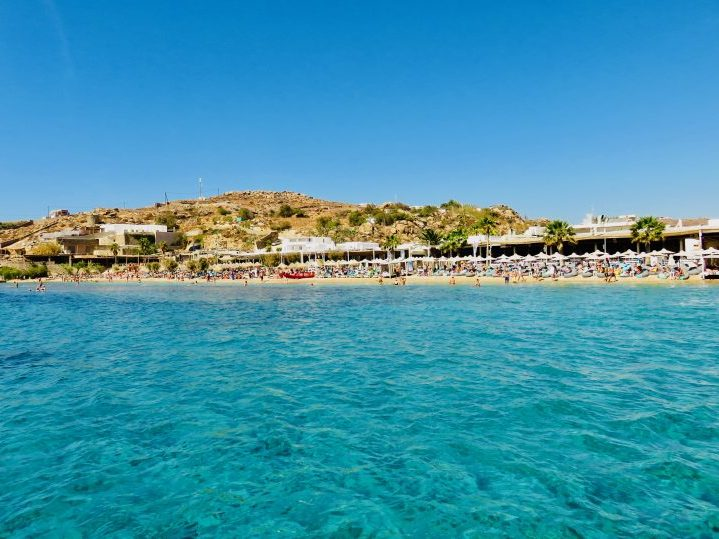 Paradise Beach Mykonos Greece, Greek Cyclades Travel Blog