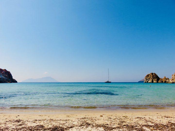 Plathiena Beach Milos Greece, Greek Cyclades Travel Blog