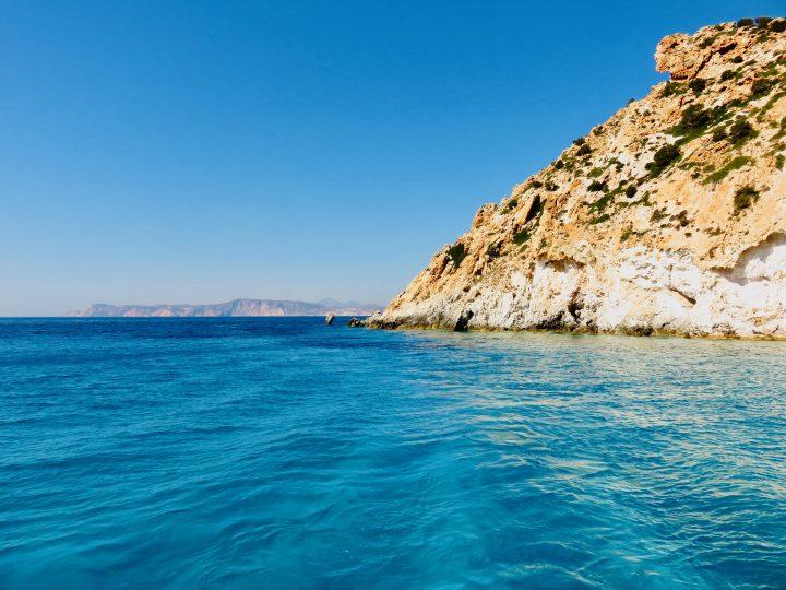 Poliegos Milos Greece, Greek Cyclades Travel Blog