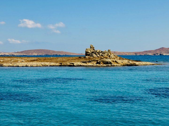 Sailing Rineia Delos Greece, Greek Cyclades Travel Blog