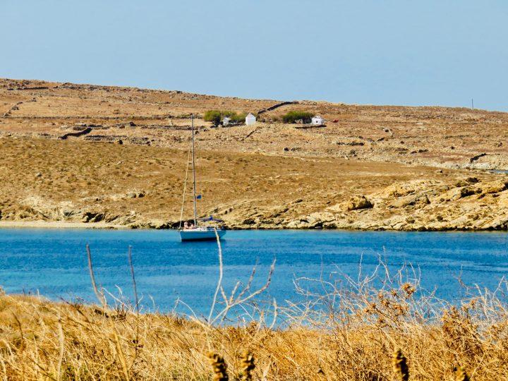 Sailing Boat Delos Greece, Greek Cyclades Travel Blog