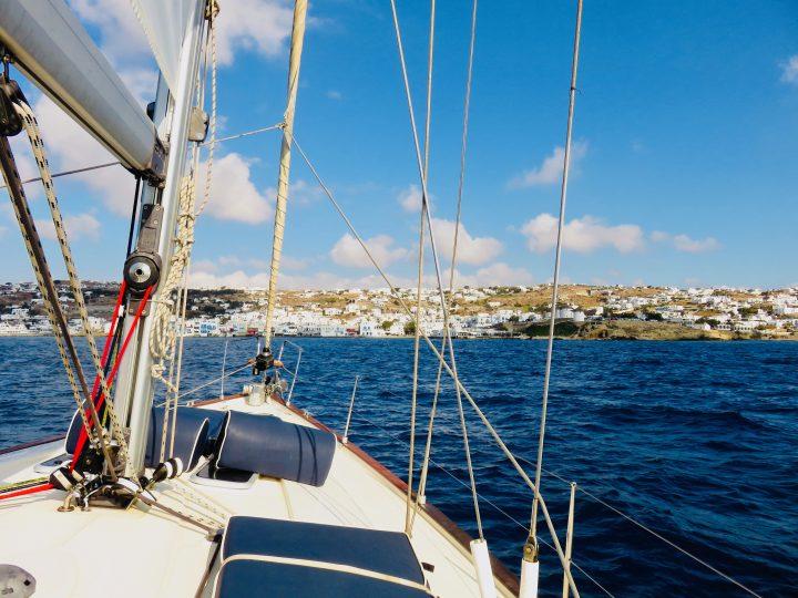 Sailing from Mykonos to Delos Greece, Greek Cyclades Travel Blog