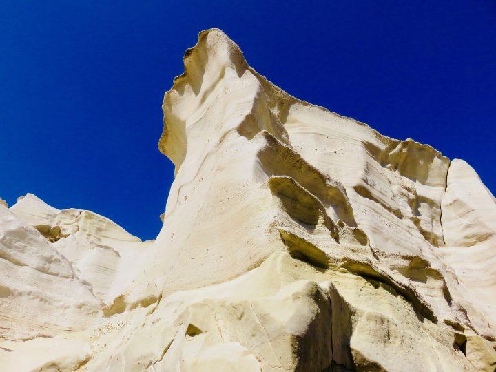Sarakiniko rock formations at Milos Greece, Greek Cyclades Travel Blog