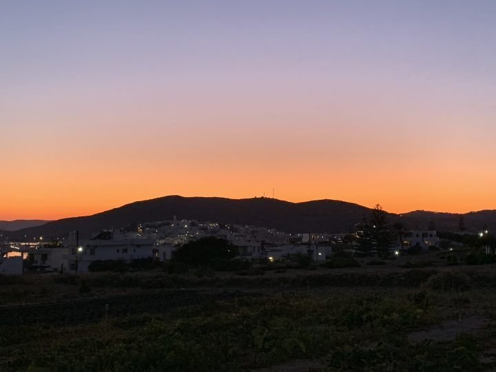 Sunset Milos Greece, Greek Cyclades Travel Blog
