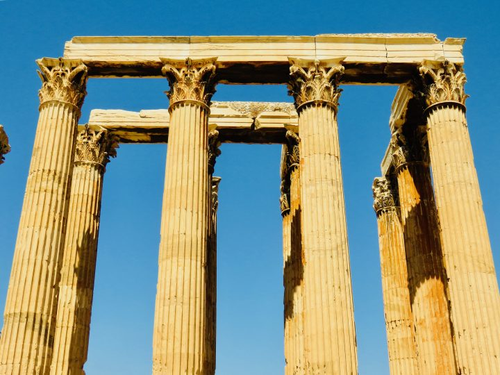 Temple of Olympian Zeus Athens Greece, Greek Cyclades Travel Blog