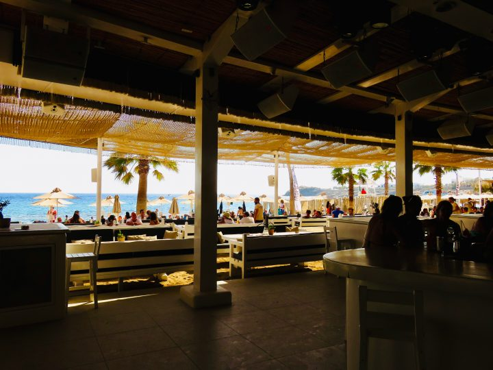 Club Tropicana at Mykonos Greece, Greek Cyclades Travel Blog