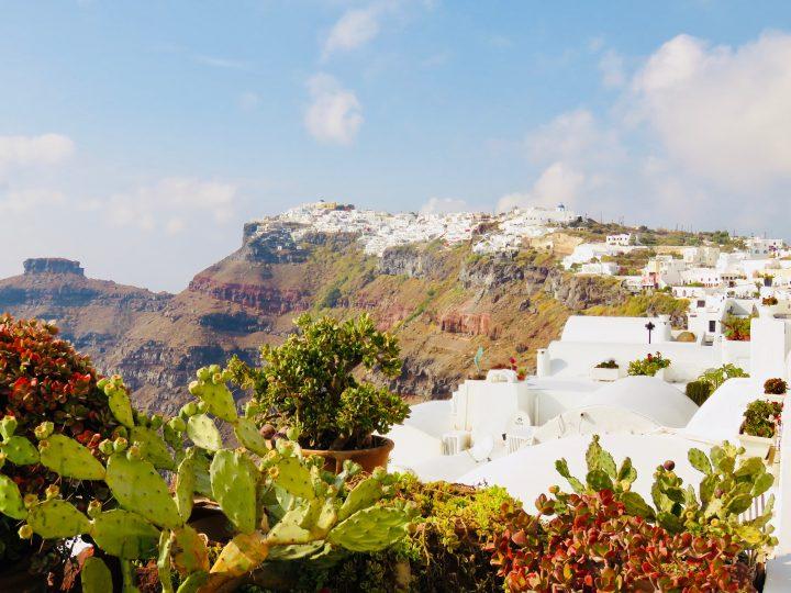 Perfect View Santorini Greece, Greek Cyclades Travel Blog