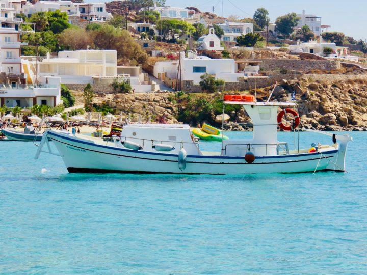 Water Taxi transport Mykonos Greece, Greek Cyclades Travel Blog