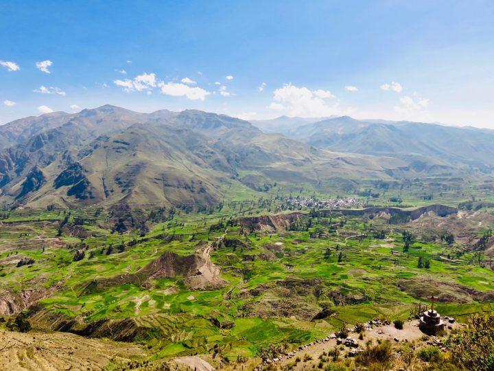 Choquetico view Arequipa Peru, Travel Blog Peru