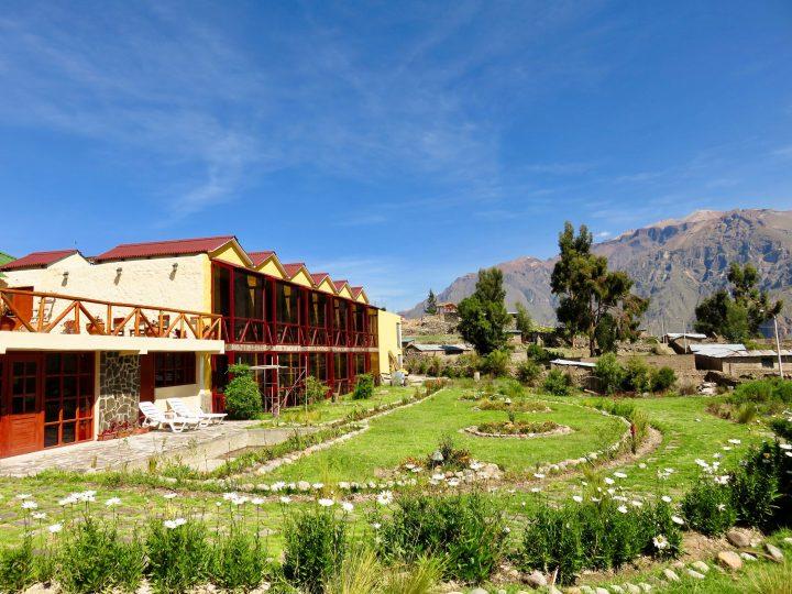 Colca Trek Lodge in Arequipa Peru, Travel blog Peru