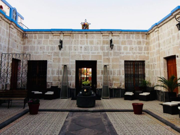 Hostal Casona Solar Arequipa Peru, Travel blog Peru