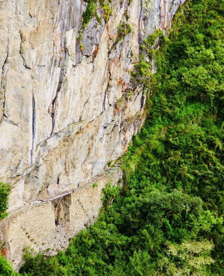 Inca Bridge Machu Picchu Peru, Travel Blog Peru