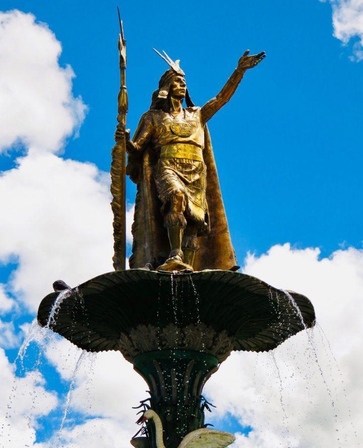 Inca warrior Cusco Peru, Travel Blog Peru