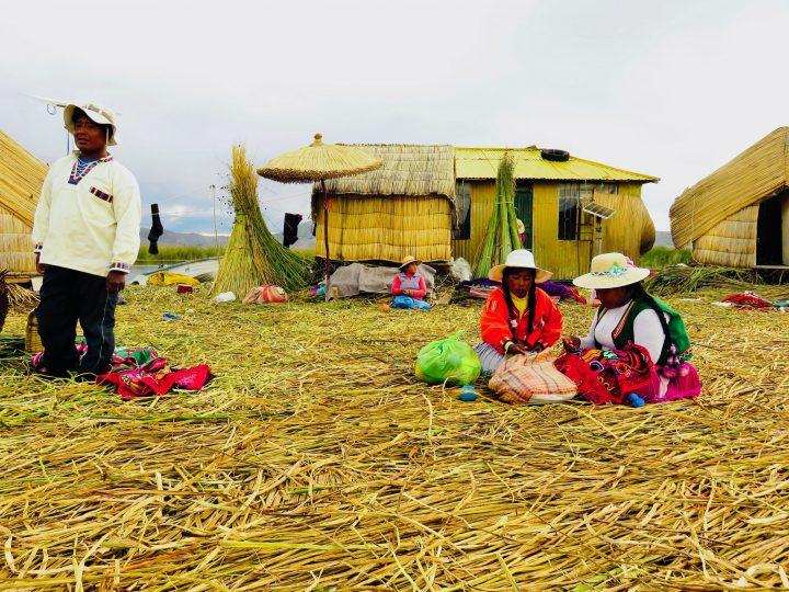 Visiting the Islas Uros in Puno Peru, Travel blog Peru