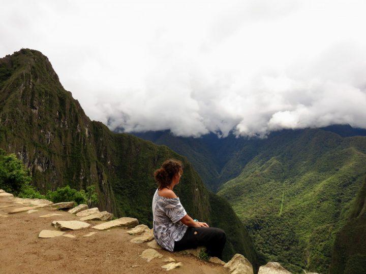 Let me Inspire you relaxing at Machu Picchu Peru, Travel Blog Peru