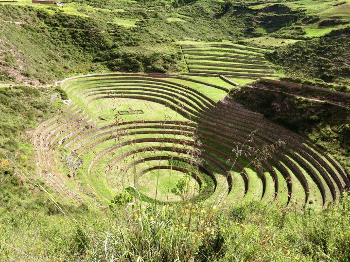 Inca Moray site in the Sacred Valley Peru, Travel Blog Peru