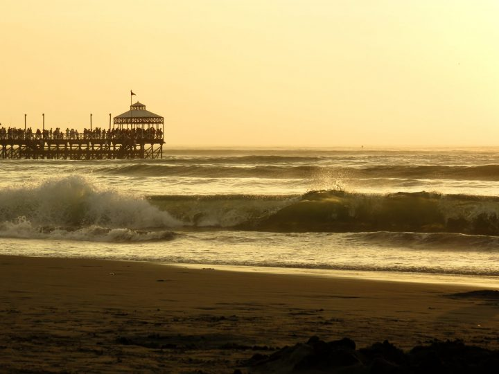 Muelle or the Pier in Huanchaco Peru, travel blog Peru