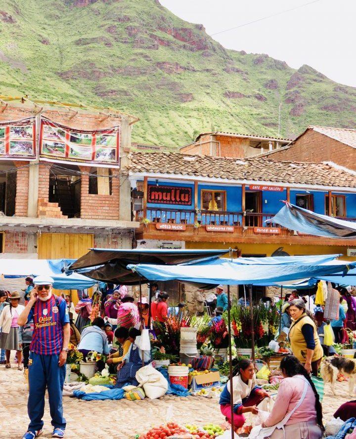Restaurant Mullu in Pisac Sacred Valley Peru, Travel Blog Peru
