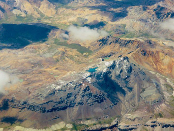 Plane view from Cusco to Lima Peru, Travel Blog Peru
