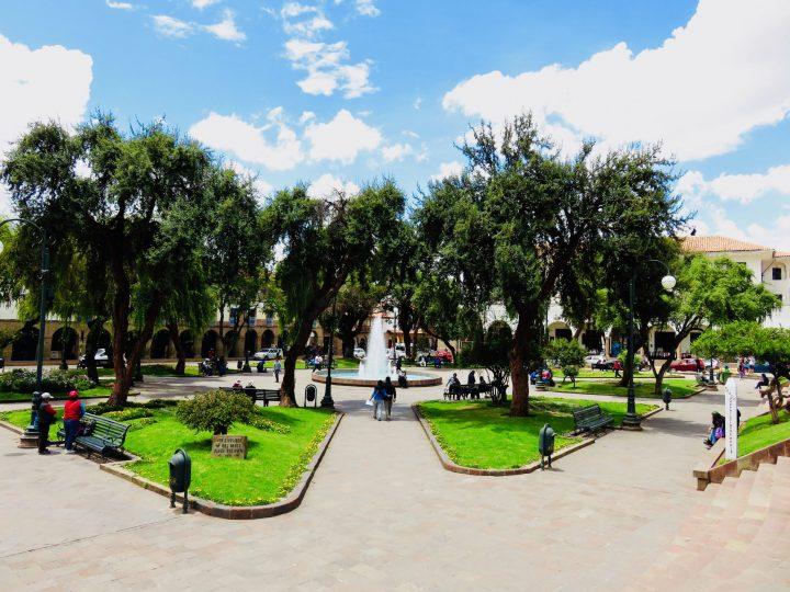 Plaza Regocijco Cusco Peru, Travel Blog Peru