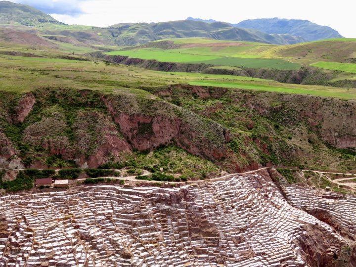 Inca Highlight Salinas in the Sacred Valley Peru, Travel Blog Peru