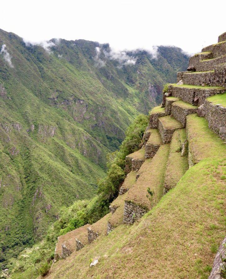 Terraces of the Machu Picchu Peru, Travel blog Peru