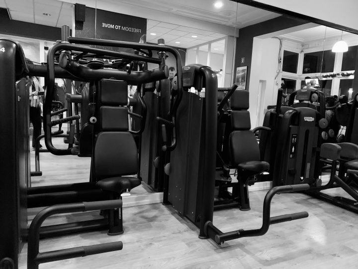 Fitness Machines at the gym, blog Body Health