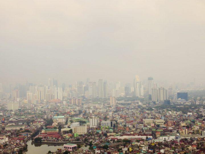 Manila metropole skyline overview Manila Philippines Travel Blog