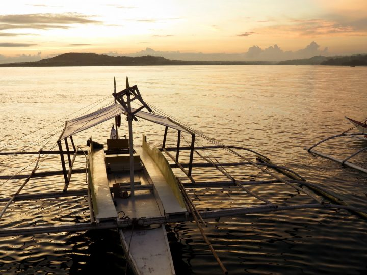 Sunset at Baclayon Bohol Philippines Travel Blog