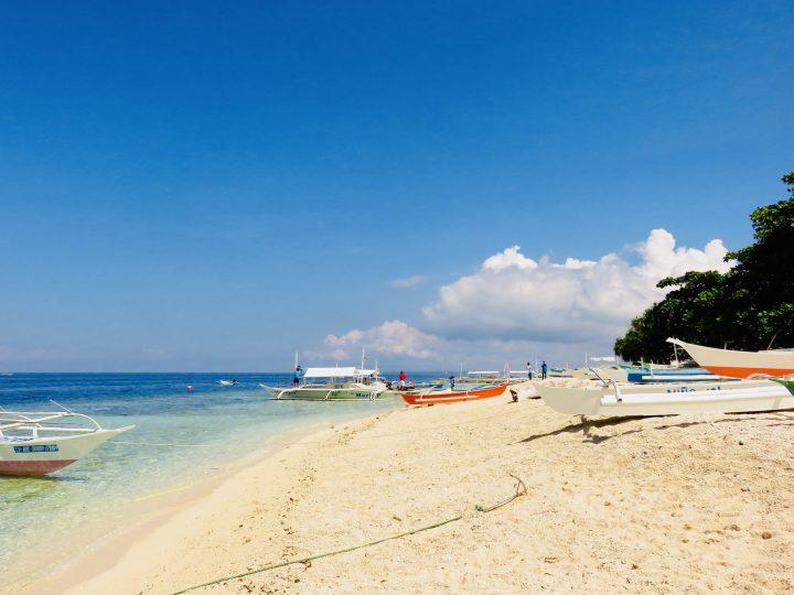 Balicasag Island overview Bohol Philippines Travel Blog