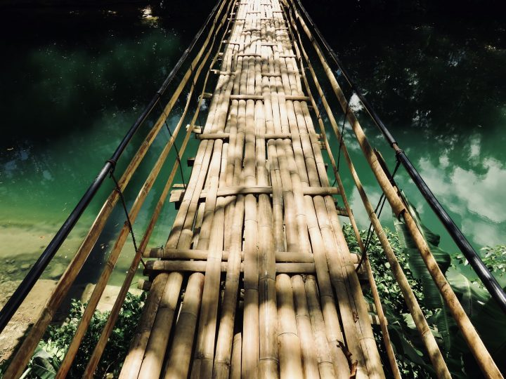 Bamboo Bridge Bohol Philippines Travel Blog