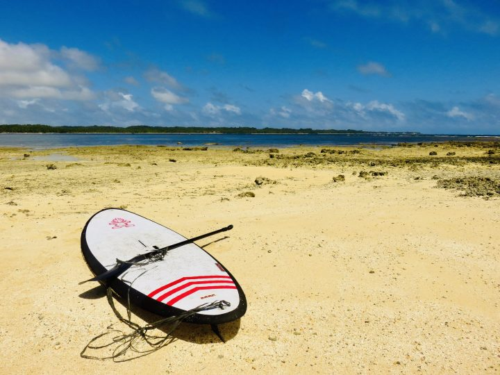 SUP Stand Up Peddel Surfing in Siargao Philippines Travel Blog