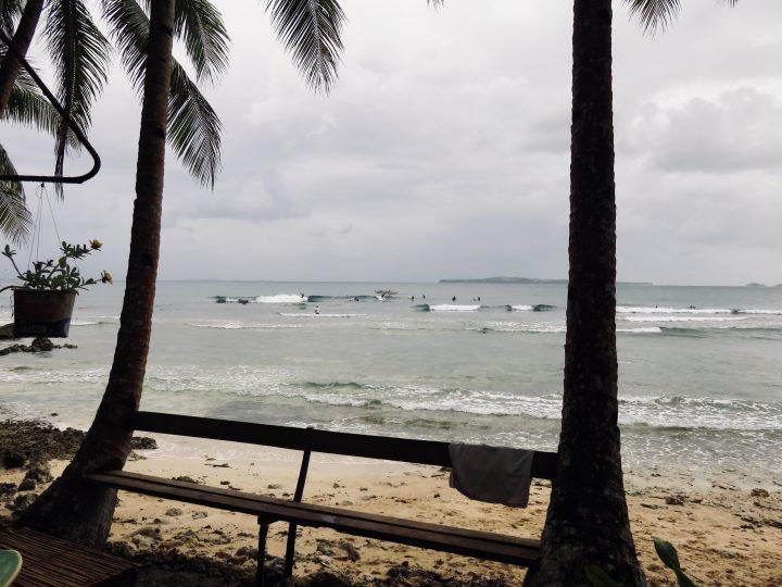 Surfing at Secret Spot Siargao Philippines Travel Blog