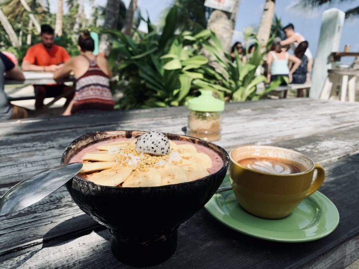 Shaka Bar Restaurant Fruit Bowl deal Surfing Siargao Philippines Travel Blog