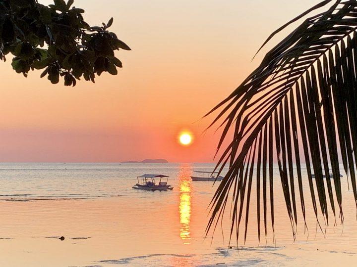Ocean Sunset Siquijor Philippines Travel Blog